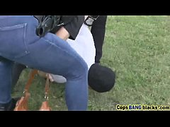 Cops Maggie And Joslyn Riding Long Black -snatc...