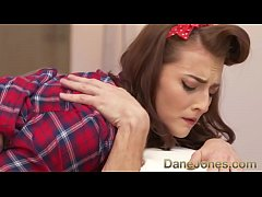 Dane Jones Cleaning lady sloppy blowjob passion...