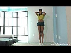 Hot Black Girl Starts Her Modeling Career With ...