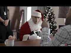 Bad Santa fucks teen Emily Willis who still bel...