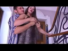 Horny son licks, and abuses his mom in every po...