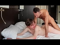 Daddy fucks his son