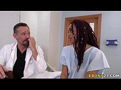 Busty Ebony Julie Kay Having Group Sex In Hospital