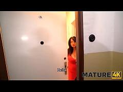 MATURE4K. Mature woman asks fixer not to stop b...