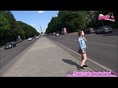 thumb german teen fuc  k public threesome at berlin  some at berlin t ome at berlin t
