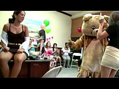 DANCING BEAR - Alaina Brooke's CFNM Fiesta With...