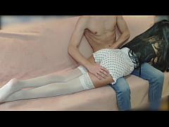 Step Daddy spanked his stepdaughter hard. After...
