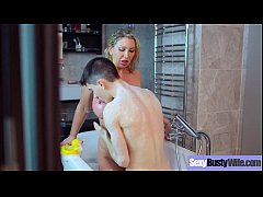 Big Melon Tits Housewife (Leigh Darby) Enjoy Ha...