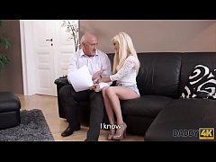 DADDY4K. Horny blondie wants to try someone lit...