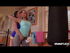 Athletic hot babes Angelica Heart and Inna Inna...
