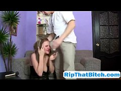 Holly Osborne gets slapped and fucked hard by h...