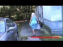 Amber Playing Outside