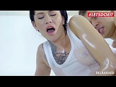 LETSDOEIT - #Erika Bellucci - Oiled Up And Hard...