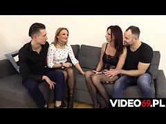 Polskie porno - Spotkanie swingersów
