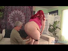 Fat redheaded bitch Jayden Heart fucked good