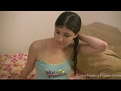 Teen gets penetrated by her horny stepdad
