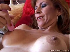 Gorgeous mature redhead is feeling horny