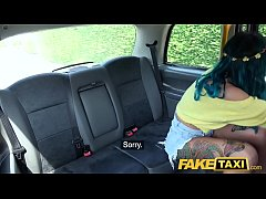 Fake Taxi Ass to mouth with tattooed dirty Brit...