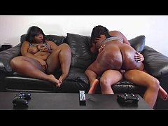 BBW Gamer Has Out-of-Body Experience While Ridi...