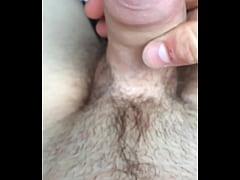 Guy jerking off masturbating
