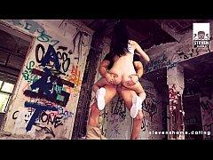 Slim teen Megan Venturi BANGED in an abandoned ...