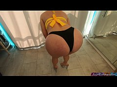 Stepmom needs help with her bikini