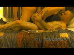 Amateur wife shared and tagteamed in hotel 3way...