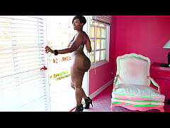 Hot ebony milf with a huge ass gets fucked by a big latino dick - black porn