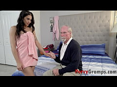 Peeping Pops Fucked By Teen Grand- Daughter- So...