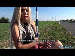 Public Agent Sweet shaven Romanian pussy gets c...