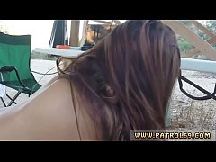 Gipsy crying anal and slim girl first time Brun...