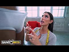 BANGBROS - Busty Tailor August Ames To Please H...