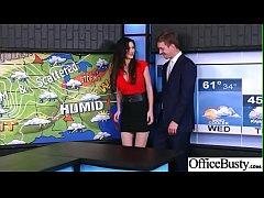 (Kendall Karson) Busty Office Girl In Hard Styl...