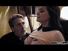 PURE TABOO Priest Takes Advantage Of A Desperat...