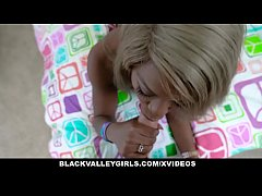 BlackValleyGirls - Cute Mocha Teen Takes a Ride...
