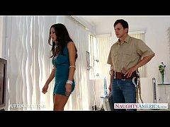 Elegant babe in blue dress Yurizan Beltran take...