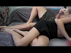 Girl in skirt help me cum - Fuck doggystyle and cowgirl !!!