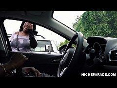 NICHE PARADE - Ebony MILF Watching Me Flash Coc...