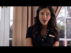 GIRLS GONE WILD - Young Room Service Waitress J...