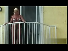 couple fuck hard on a balcony - deepestdesire.net