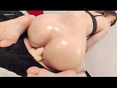 Sexy Brunette Anal Masturbate - Hot Solo