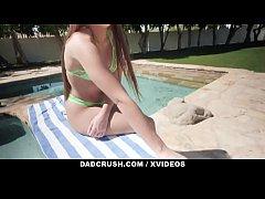 DadCrush - Hot Stepdaughter (Gia Derza) Gets Cu...