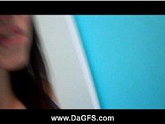 Nude emo Becka solo cellphone video