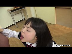 Japanese darling, Tomoyo Isumi sucks dicks, unc...