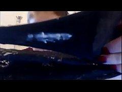 Cam Girl Smelling Dirty Panties - more at exqui...