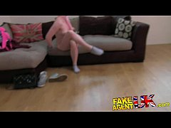 FakeAgentUK Squirting casting girl back for mor...