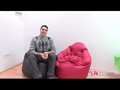 I sell my girlfriend to Jordi! Young couple's f...