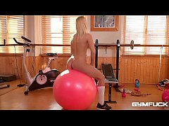 Gym fuck makes wet & horny blondie Cecilia Scot...
