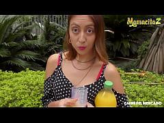 MAMACITAZ - #Marcela Carmona #Cristian Cipriani - Big Booty Latina Picked Up For Some Hot Fun