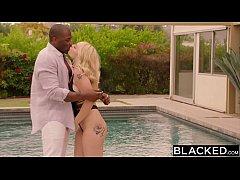 BLACKED Curvy Blonde Cheats on Boyfriend With BBC